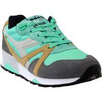 Diadora N9000  Nyl Ii Running Shoes - Green;Grey - Mens