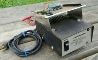 Vtg RADIO SHACK MICRONTA Regulated 12 Volt Power Supply 2.5 AMP # 22-124 w/MOUNT