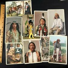 Collection of Native American Indian Postcards Arrowmaker Irene Rock Pedro Ute