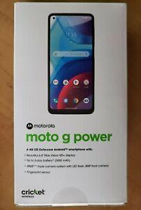 Brand New - Motorola Moto G Power (2021) - 4GB/64GB - VoLTE - Gray (Cricket)