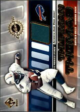 2001 Private Stock Game Worn Gear #17 Thurman Thomas Jersey - NM-MT
