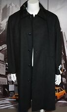 VINTAGE RANCH EXIT WOOL COAT MENS L MADE IN ENGLAND NEW  MUST HAVE