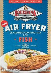 Louisiana AIR FRYER Seasoned Coating Mix for Fish