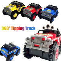 Kids 360° Rapid Tipping Truck Military Model Toys Electric Dumper Gift Toy Model
