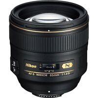 Nikon AF-S NIKKOR 85mm f/1.4G Classic Portrait Lens for Digital SLR Cameras