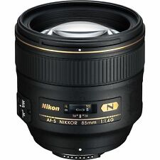 Nikon AF-S NIKKOR 85mm f/1.4G Classic Portrait Lens for Digital SLR Cameras