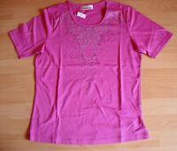 Helena Vera Nickihose Gr 48//50 pink fuchsia Jogginghose Samt Wellness NEU