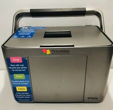 Epson PictureMate PM 240 Personal Photo Lab, Print Quality Photos, Pre-Owned.