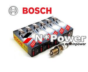 BOSCH DOUBLE PLATINUM SPARK PLUG for NISSAN SKYLINE GTR BNR32 2.6 RB26DETT 89-94