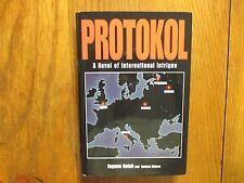 "EUGENE  GOLUB   Signed  Book (""PROTOKOL""-2002  First  Edition  Hardback"