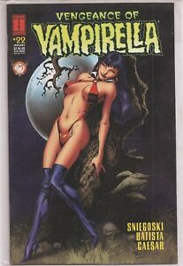 °VENGEANCE OF VAMPIRELLA #22 (25TH ANNIVERSARY) ° 1996 US Harris Comic