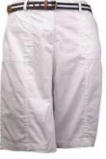 karen scott belted shorts Size 18 NWT