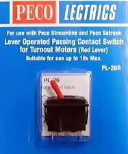 FOR PL-10 LOOK!!! PASSING CONTACT BRAND NEW PECO-PL26R-SWITCH RED