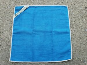 Norwex Blue EnviroCloth Gray Trim New Never Used!