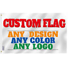 Anley Custom Flag Customized Flags Banners - Print Your Own Design Grommets Free