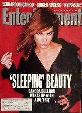 SANDRA BULLOCK (1995) Cover Story (+mag) ENTERTAINMENT WEEKLY Leonardo DiCaprio