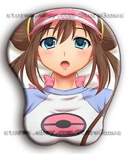 3D MousePad Pokemon Rosa Boob Wrist Ecchi Anime Oppai Ergonomic Boobs