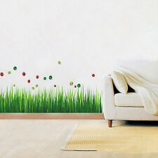 Funny Grass Green Removable Wall Stickers Mural Art Home Decal New