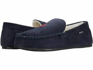 NEW Polo Ralph Lauren Dezi V IV Slippers SMF3539ARL Navy  Mens
