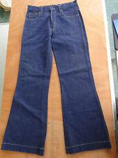 Vintage Youth Brand Sailor Wide Leg Bellbottom Jeans 70's 30x31