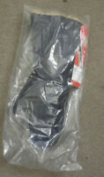 NOS NEW OLD GENUINE BELSTAFF BLACK MITTS WATERPROOF GLOVES S MADE IN ENGLAND