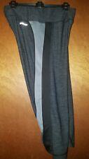 Athletic Works DriWorks Space Dye Cropped Capri Pants M 8-10 Drawstring Leggings