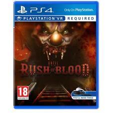 Until Dawn Rush of Blood - Playstation VR Sony PlayStation 4 PSVR