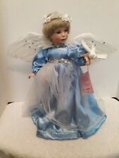 "Paradise Galleries Treasury Collection 14"" Porcelain Doll ""Angel Of Peace"""