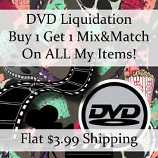 Used Movie Dvd Liquidation Sale * Titles: R-R #730 * Buy 1 Get 1 flat ship fee