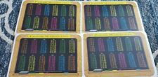 "Painless Learning Placemats painless multiplication 17.5"" Placemat Set of 4"