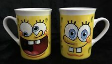 SpongeBob SquarePants Mugs, Set of 2, Viacom 2013