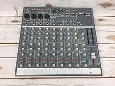 TASCAM M-08 Compact 8 Channel Mixer Mixing Board - TEAC Professional Sound