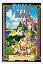 BOB MASSE MOODY BLUES ROCK CONCERT POSTER SIGNED BY ARTIST