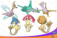 Brillante 6IV psíquica legendarys Latios Latias AZELF Uxie + más! Pokemon Sun Moon