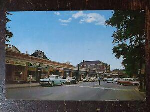 Main Street, Falmouth, MA on Cape Cod - 1950s, Rough Edges