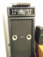 Vintage kustom 200 bass amp, roll n tucked black , its in excellent shape