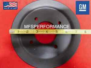 67-73 Pontiac  Single Groove A/C Crank Pulley 428,400,455 RAM AIR III,RAM AIR IV