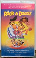 """Rock-A-Doodle"" VHS 1999 Clamshell Samuel Goldwyn Don Bluth"