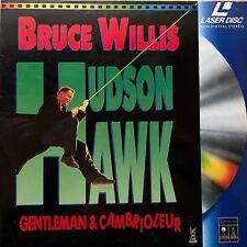 LASERDISC - HUDSON HAWK - WS PAL VF- Bruce Willis, Danny Aiello