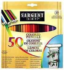 Set 50 Pencil Colored Art Piece Artist Us High Quality Grade Supply Pencils New