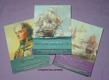 2005 ROYAL MINT SPECIMEN £5 CROWN PACK - Admiral Lord Nelson & Trafalgar