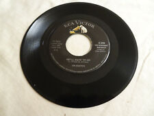 JIM REEVES HE'LL HAVE TO GO/IN A MANSION STANDS MY LOVE RCA 7643