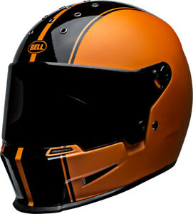 Bell Eliminator Rally Orange Black Helmet