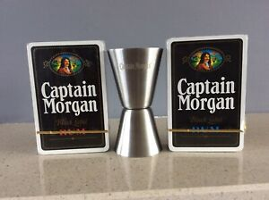 Captain Morgan Spirit Measure And Playing  Cards