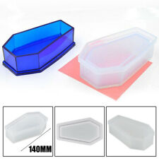 Silicone Vampire Coffin Mold Storage Jewelry Resin Mould Casting Craft DIY Gift