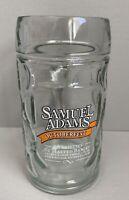 Samuel Sam Adams Octoberfest Thumbprint Beer Glass Mug Stein 0.5L