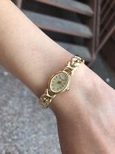 LADIES BULOVA 14K YELLOW Solid GOLD 18.4 grams WRIST WATCH $3K