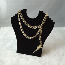 New Trendy Rihanna Gun Style Birthday Party Chain Handmade Dress Necklace