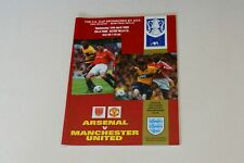 More details for fa cup semi-final replay (1999) arsenal v manchester utd programme (mint)