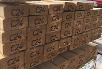 TIMBER TREATED C24 KILN DRIED TANALISED TIMBER ALL SIZES /& LENGTH AVAILABLE